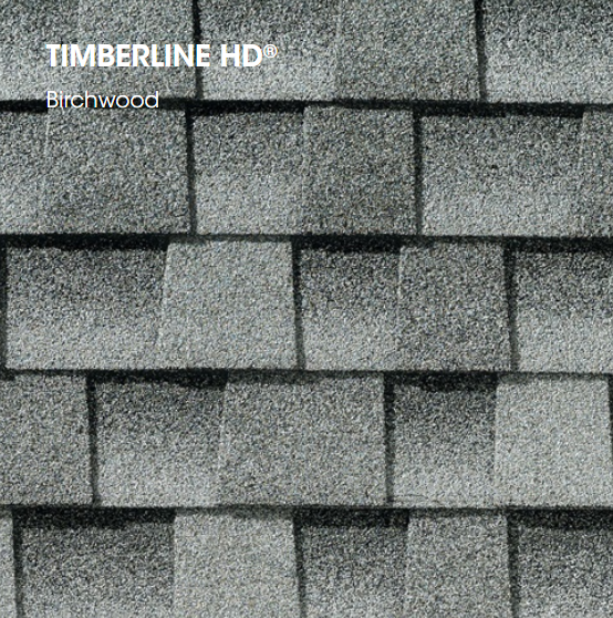 Timberline HD Birchwood Shingle