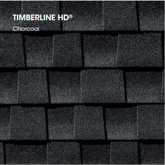 Timberline HD Charcoal Shingle